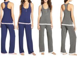 Honeydew - Babycakes Racerback Long Pajama Set NWT